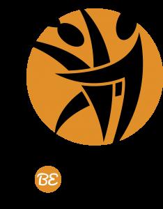 Logo e scritta nera